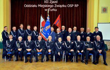 XII Zjazd Oddziału Miejskiego Związku OSP...