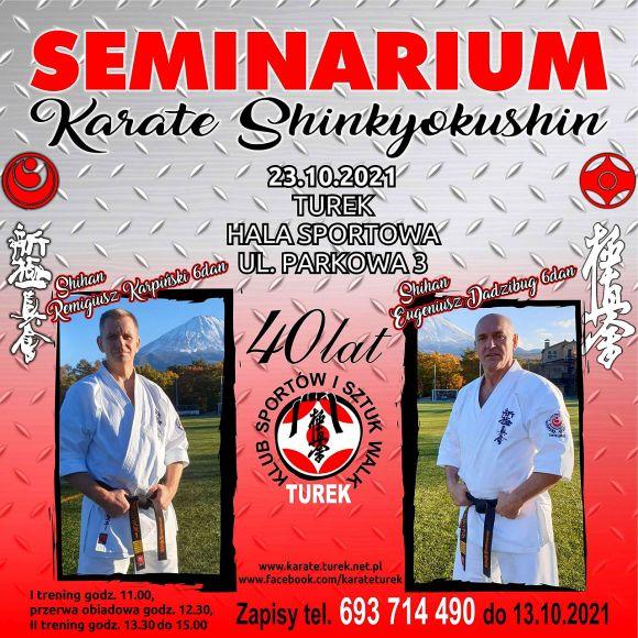 40 lat KSiSW - seminarium karate shinkyokushin